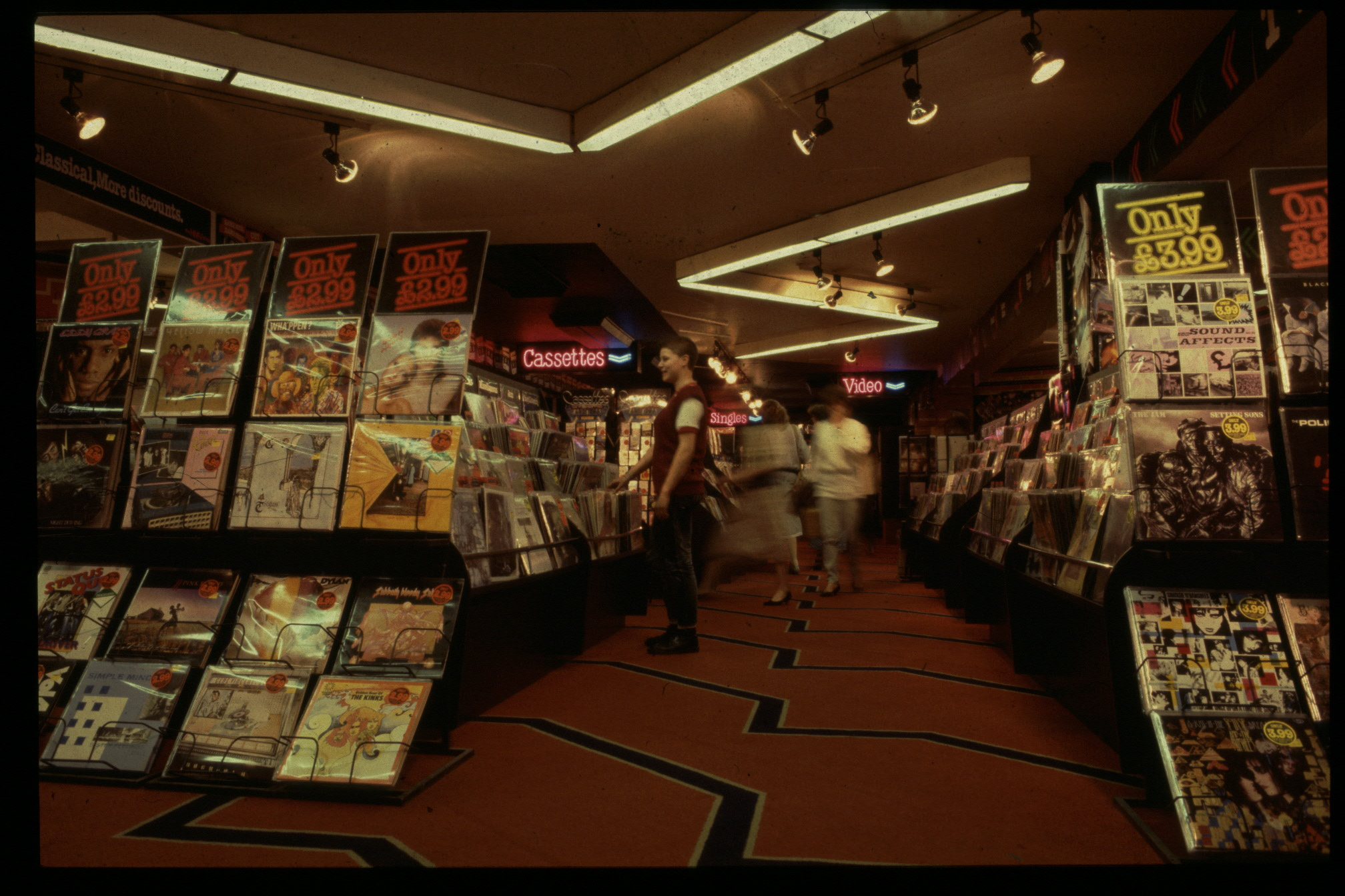 Inside The Record Store 1985 2 Warps To Neptune