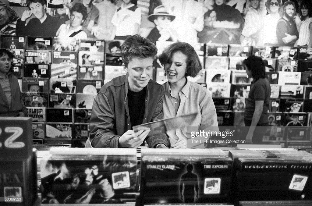Molly Ringwald and Anthony Michael Hall, 1984 | 2 Warps to ...
