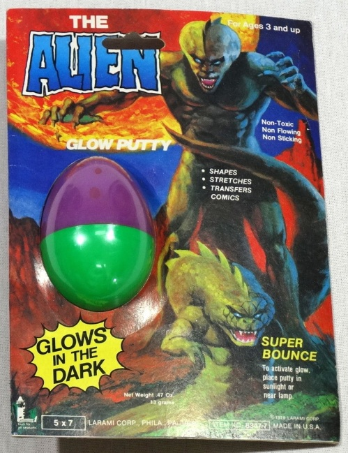 Glow Putty Alien 1979