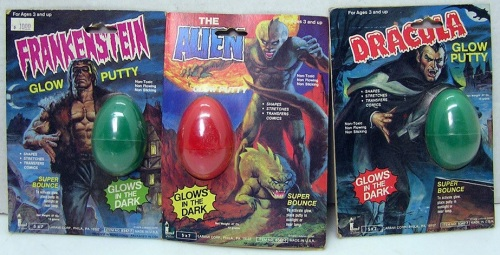 Glow Putty Set 1979