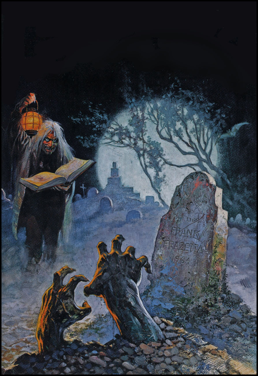 Frank Frazetta Cover Art For Tales From The Crypt