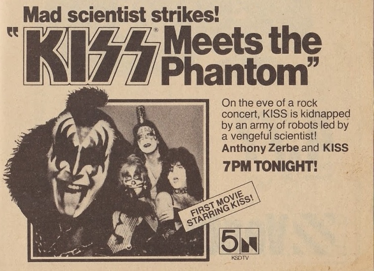 TV Guide: KISS Meets The Phantom of The Park