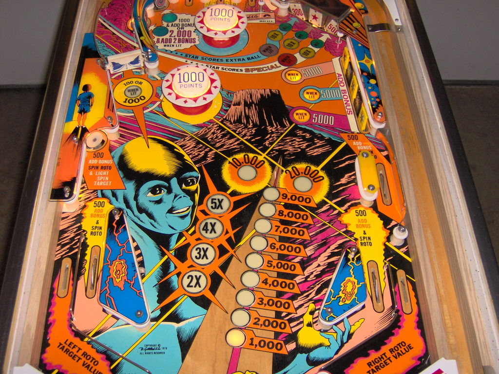 Star Wars Pinball Machine >> Close Encounters of the Third Kind Pinball Machine ...
