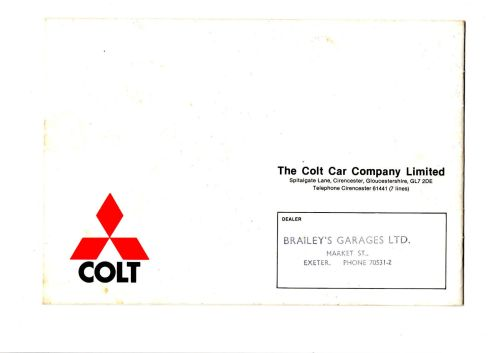 Colt 1976-11