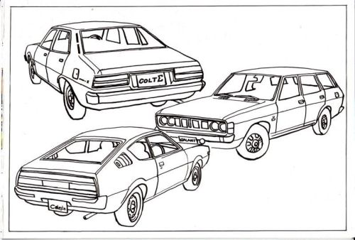 79 Ppg Car Coloring Book