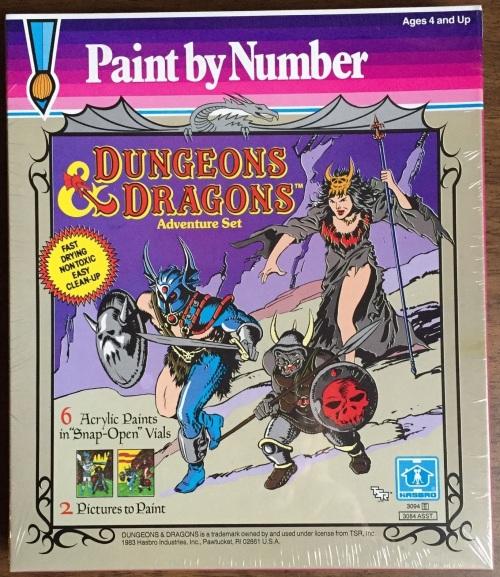 D&D Paint 1983