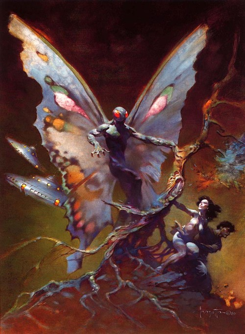 Frazetta Mothman 1980