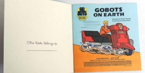Gobots Ditko 1984-3