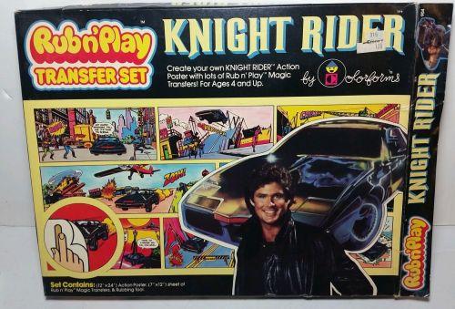 Knight Rider Rub 1982-1