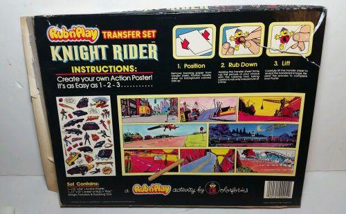 Knight Rider Rub 1982-2