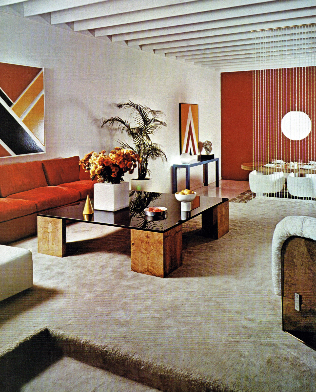 Living room design 1970 1978 2 warps to neptune for Interior design 70s house