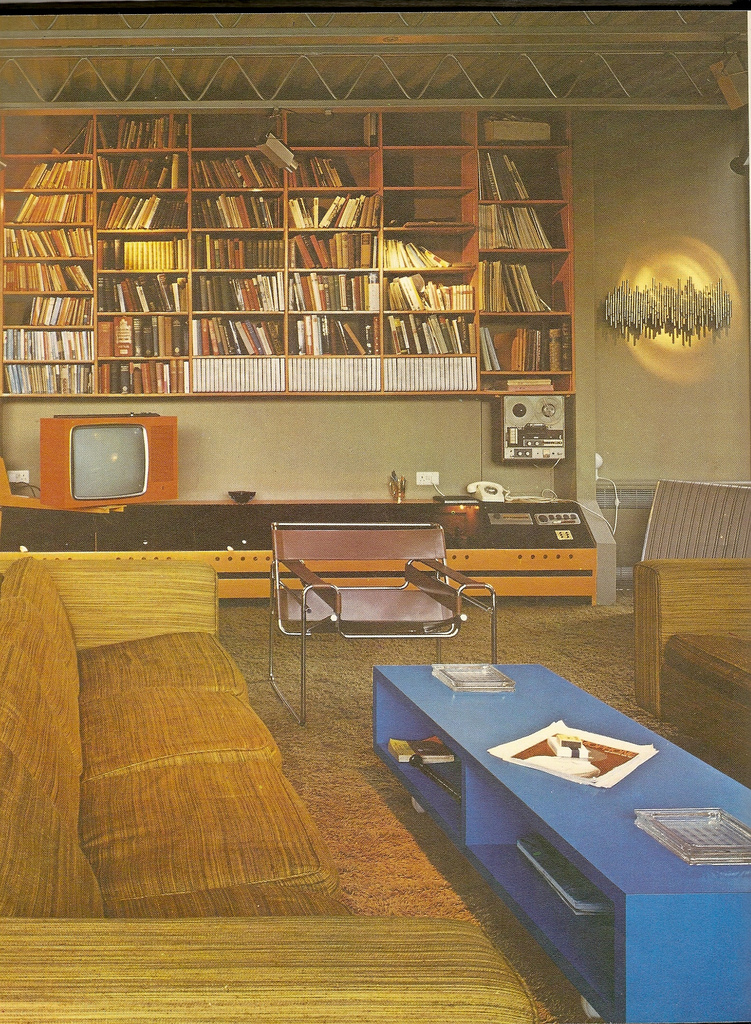 Living Room Design, 1970 U2013 1978 » Living Room 70s 3