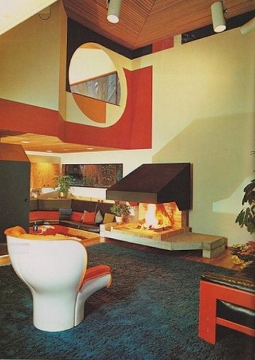 living room design 1970 1978 living room 70s 4 - 70s Living Room