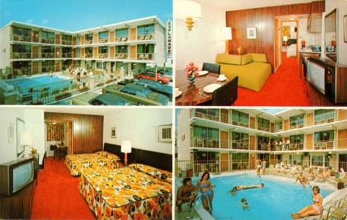 Motel Esplenade Wildwood 1970s