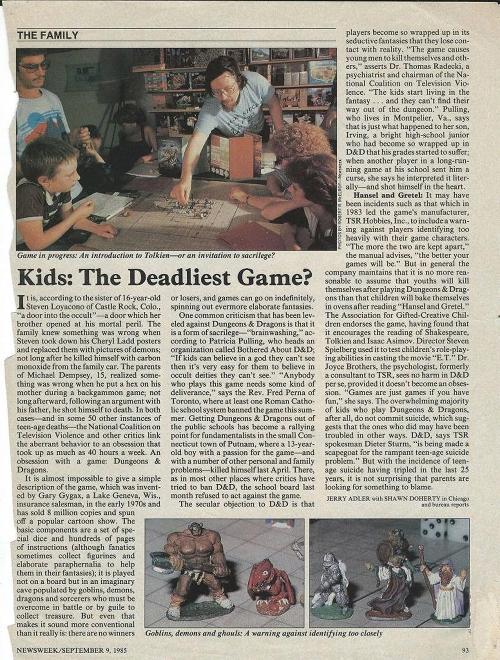 Newsweek 1985