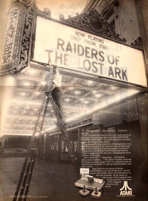 Raiders Atari Promo 1982