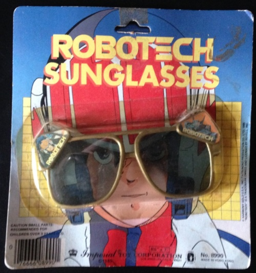 Robotech Glasses 1985