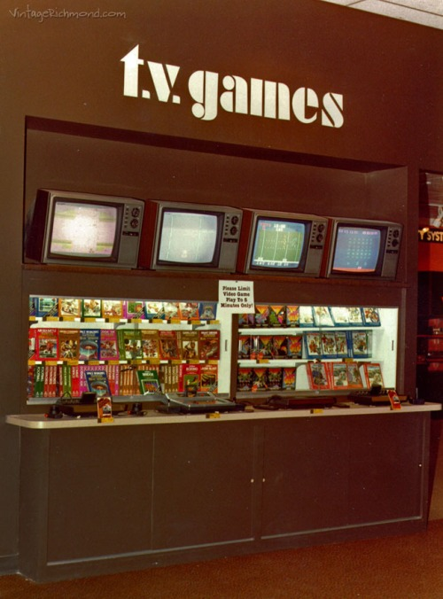 Video Game Demo Circa 1981