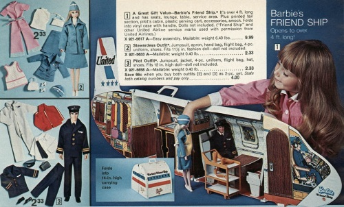 Barbie Friend Ship 1972-4
