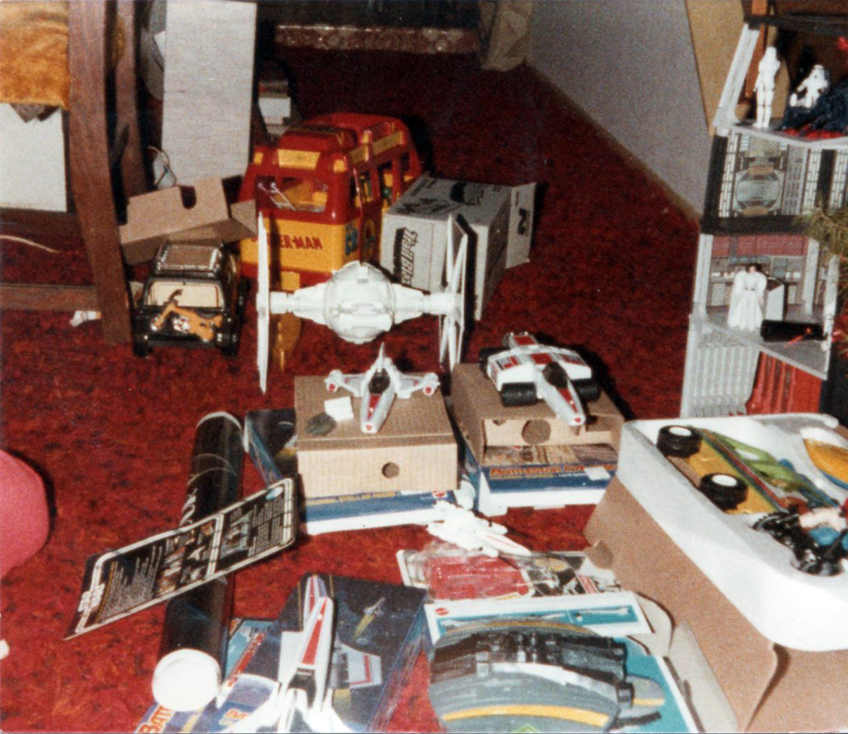 Christmas Morning, 1978: Star Wars, Battlestar Galactica, and Adventure People | 2 Warps to Neptune