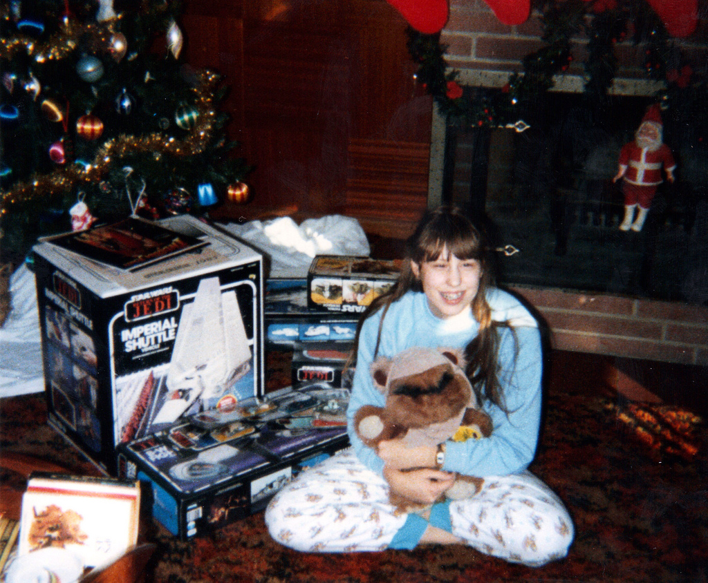 1984 Toys For Girls : Christmas morning return of the jedi warps to