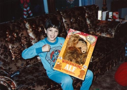 Christmas Alf 1986