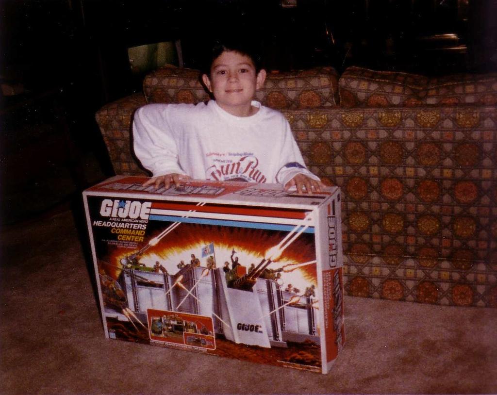 Christmas G.I. Joe 1986 | 2 Warps to Neptune