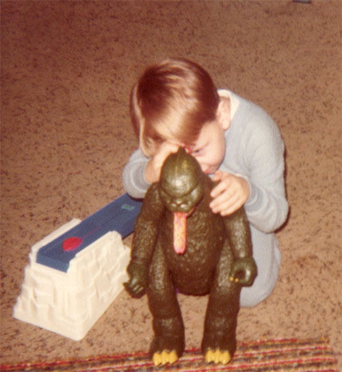 Christmas Godzilla 1979