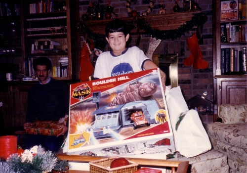 Christmas Mask 1985