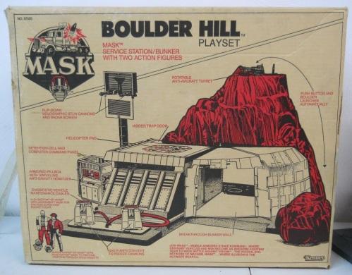 Mask Boulder Hill 1985-2