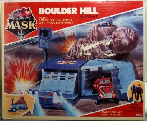 Mask Boulder Hill 1985
