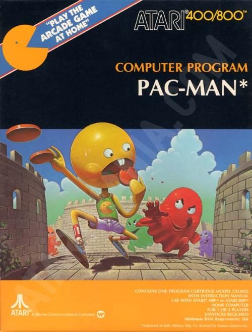 Pac-Man Atari 400 800