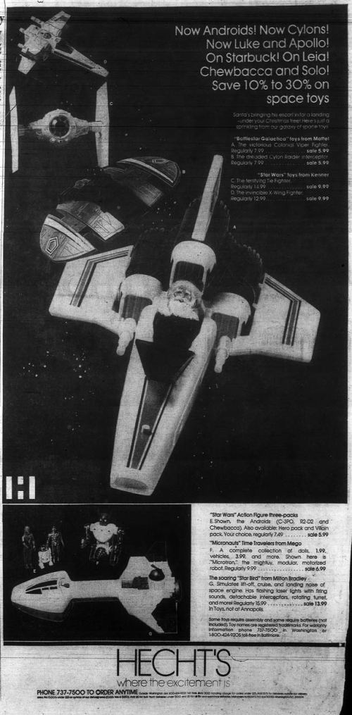 Space Toys Ad 10-78