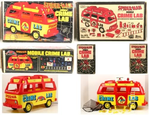 Spidey Crime Lab 1978