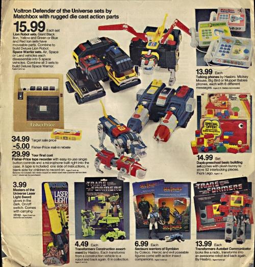 Target 1985-1