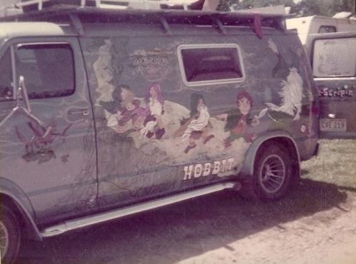 Hobbit Van Circa 1978