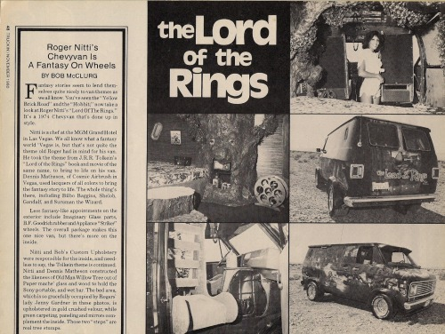 LOTR Van 1980