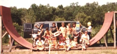 Skate Ramp 1982
