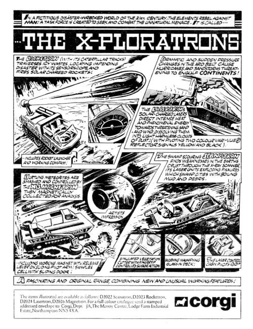 X-ploratrons Ad 1979