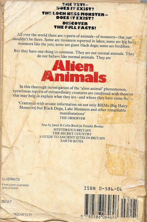 Alien Animals 1985
