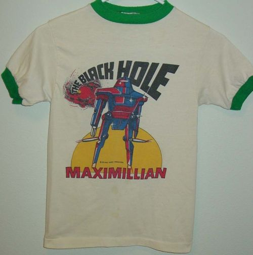 Black Hole Shirt 1979