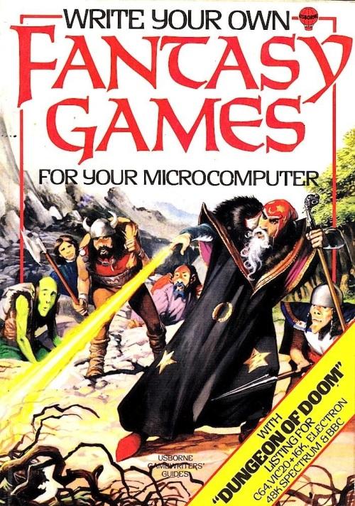 Fantasy Games Usborne 1984