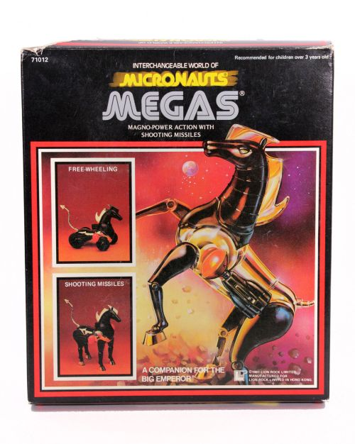 Micronauts Megas 1981-1