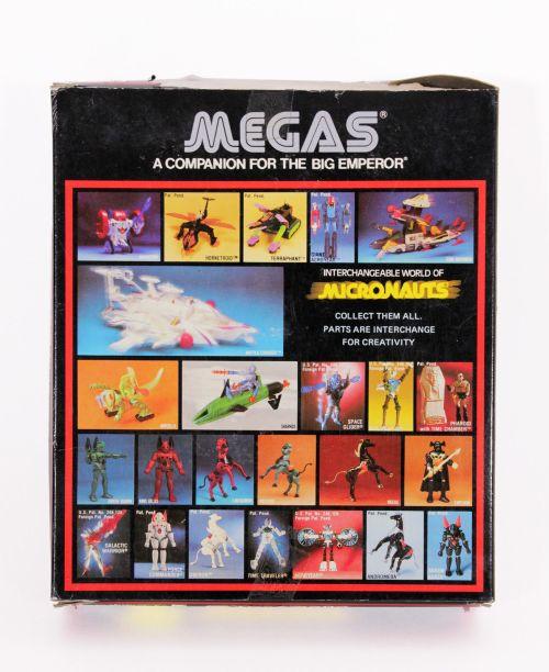 Micronauts Megas 1981-4