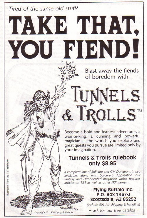Tunnels and Trolls 1980