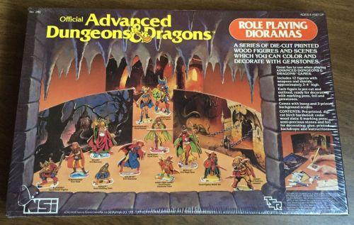 AD&D Dioramas 1983