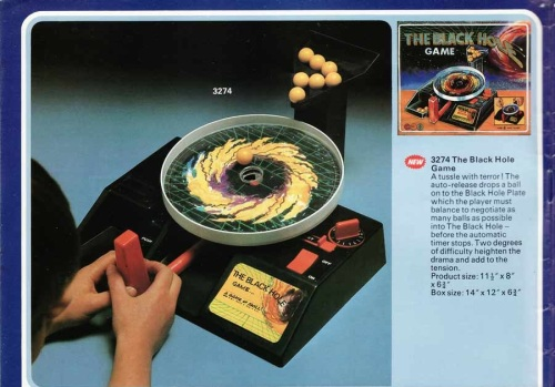 Black Hole Game 1979