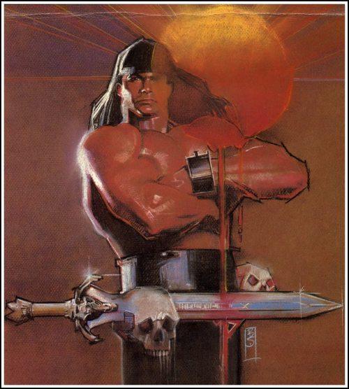 Conan 1984 Calendar