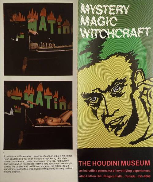 Houdini Museum 1970s