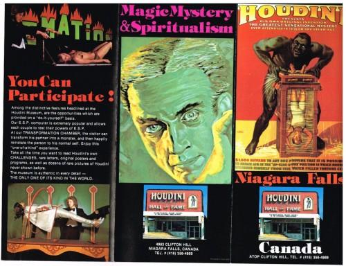 Houdini Museum 1980-1